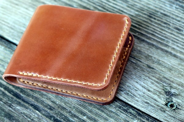 Image of Traditional Bifold Wallet in Horween Shell Cordovan