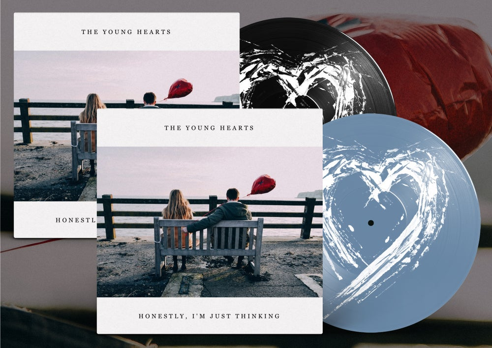 Image of The Young Hearts - Honestly, I'm Just Thinking (vinyl)