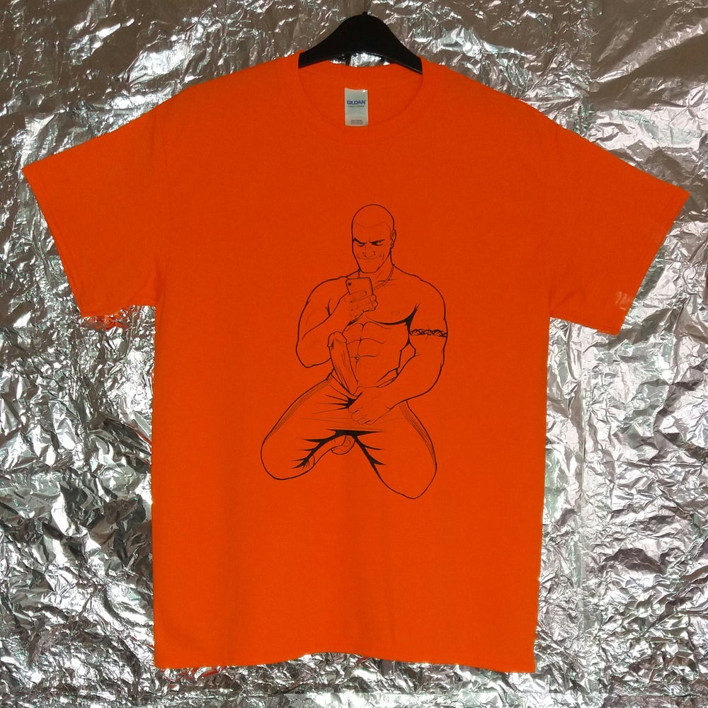 Image of Send Nudes plain orange