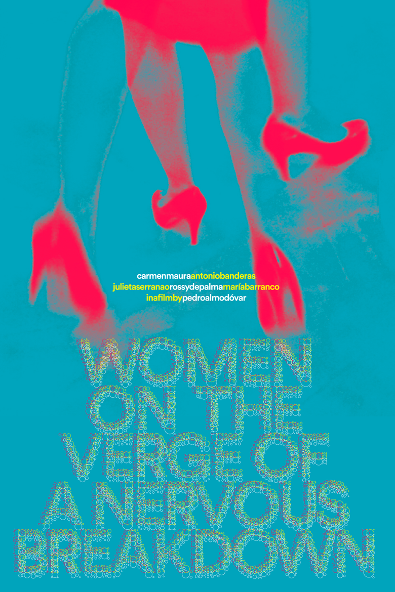 """Image of Poster for """"Women on the Verge of a Nervous Breakdown"""""""