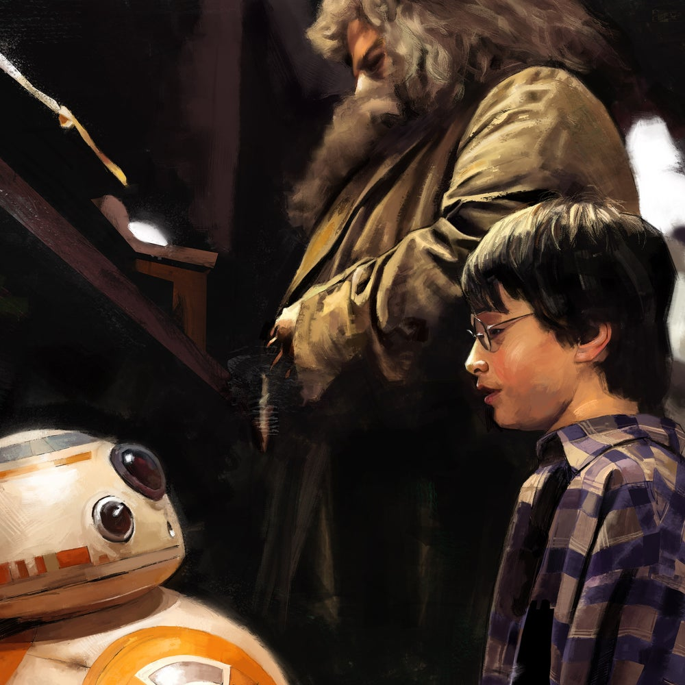 Image of BB Visits Harry