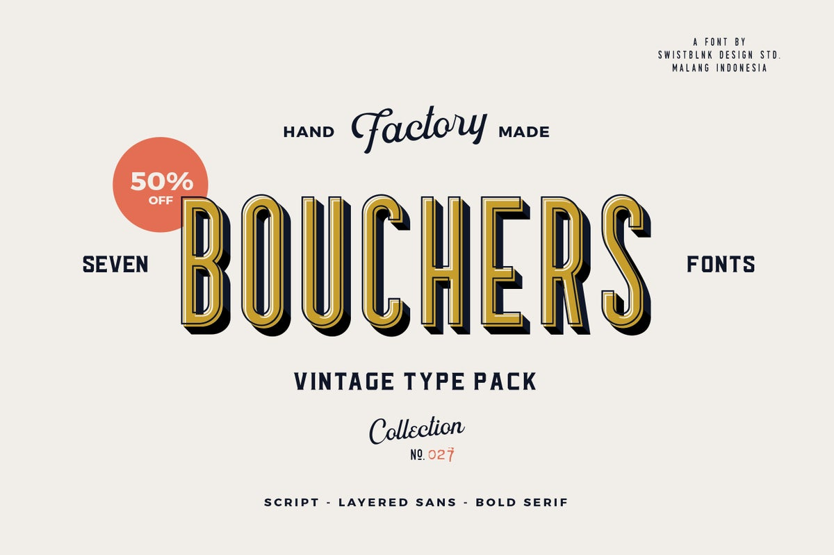 Image of Bouchers Type Collection