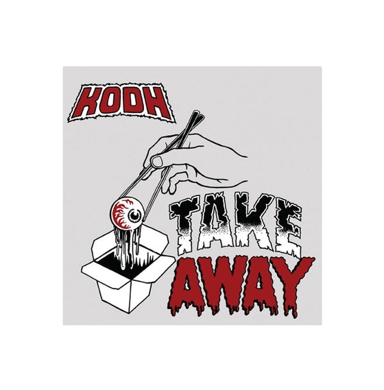 "Image of Take Away - Kodh (7"" Red Vinyl)"