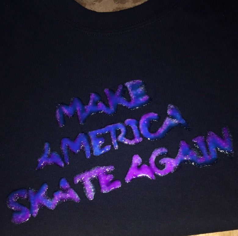 Image of Make America skate again T-shirt