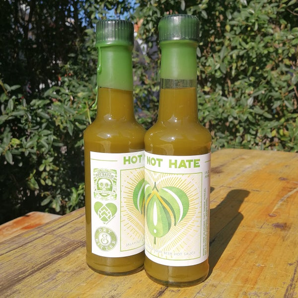 Image of Hot Not Hate - Hot Sauce
