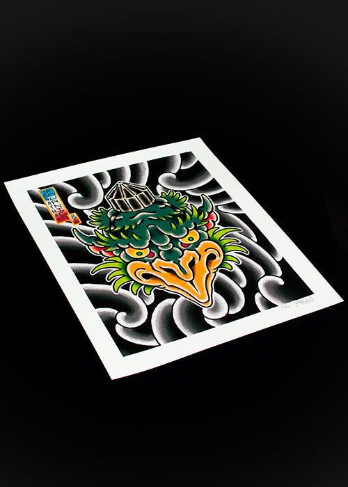 Image of Tengu Limited Edition Print