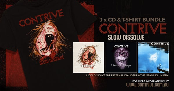 Image of (NEW)TSHIRT + x3 CD BUNDLE PACK!