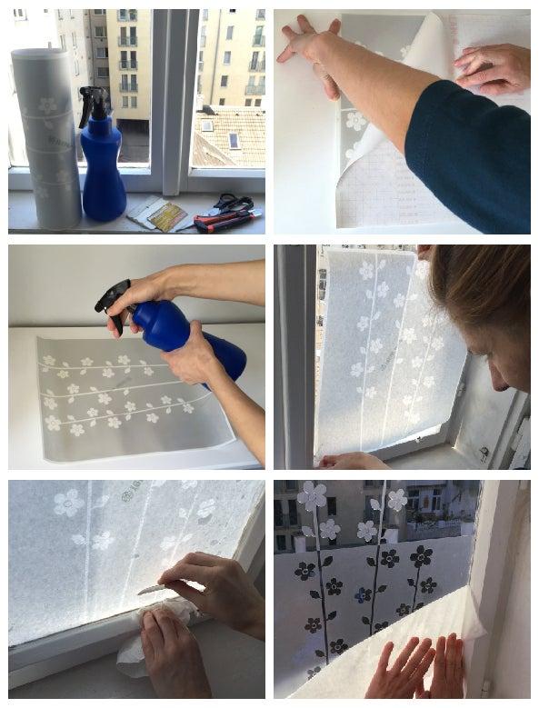 Image of Sichtschutz Folie Badezimmer, Blickschutz für Glasflächen