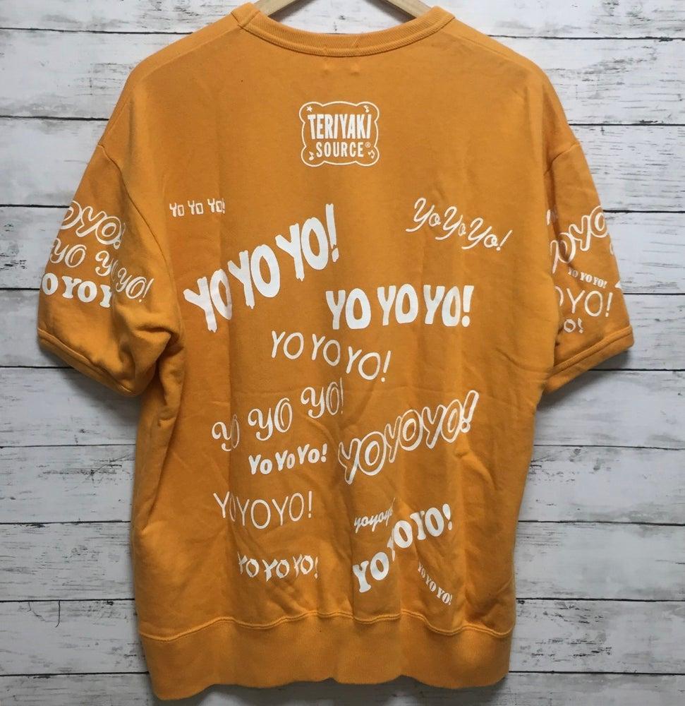 "Image of Bape x Teriyaki Boyz ""YO"" Short Sleeve Sweatshirt"