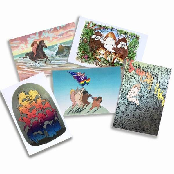 Image of TWENTY FOUR HOUR WOMAN postcards
