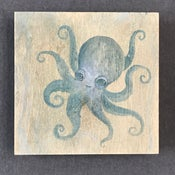 Image of Cynthia Thornton—Octopus Painting on Wood