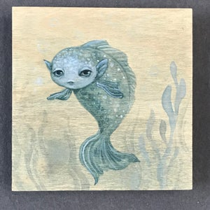 Image of Cynthia Thornton—Fish Painting on Wood