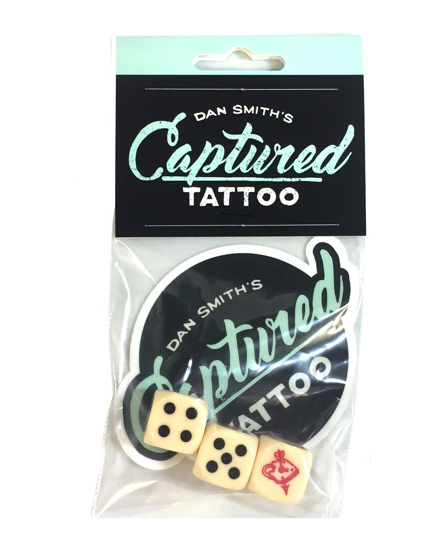 Image of Captured Tattoo Dice Sets