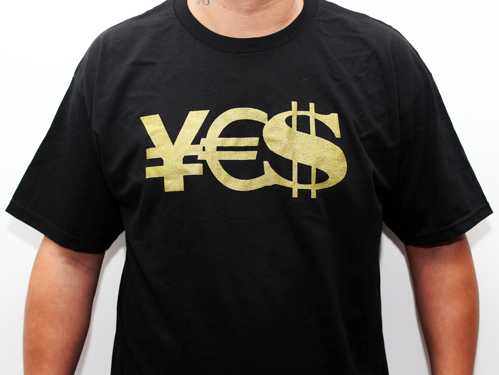 Image of ¥£$ Tee (Black)
