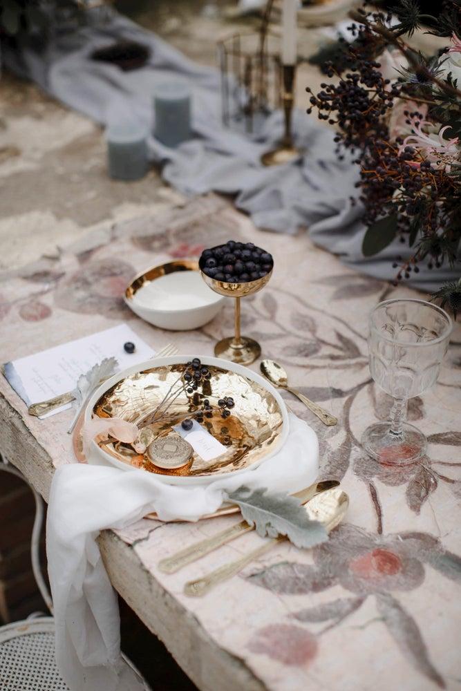 Image of Servizio posate oro