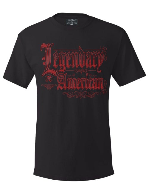 Image of Legendary American Old English Tee