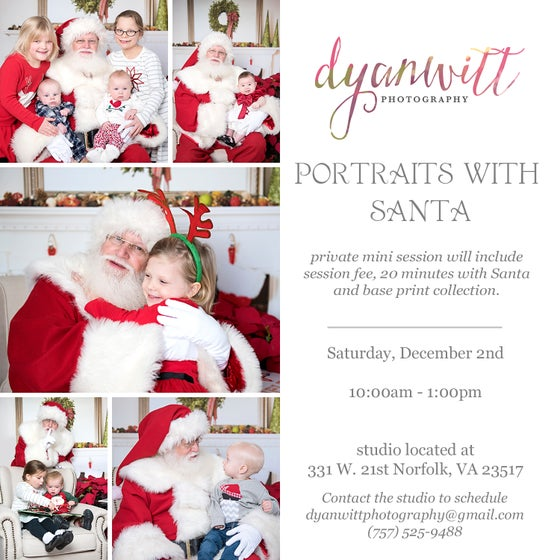 Image of Portraits with Santa 2017