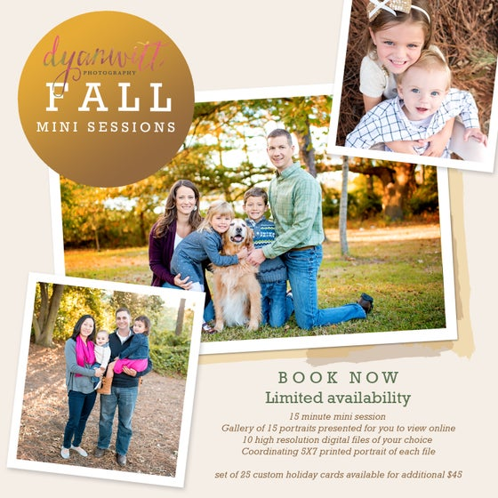 Image of 2017 Fall Outdoor Mini Sessions - Norfolk, Virginia Beach