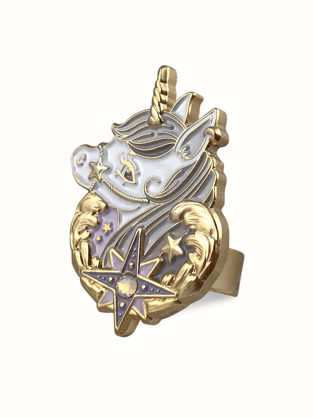 Image of Dreamy Unicorn Ring · Gray