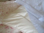 "Image of Gorgeous Single Linen ""Evelina Rose"" Paisley Eiderdown"