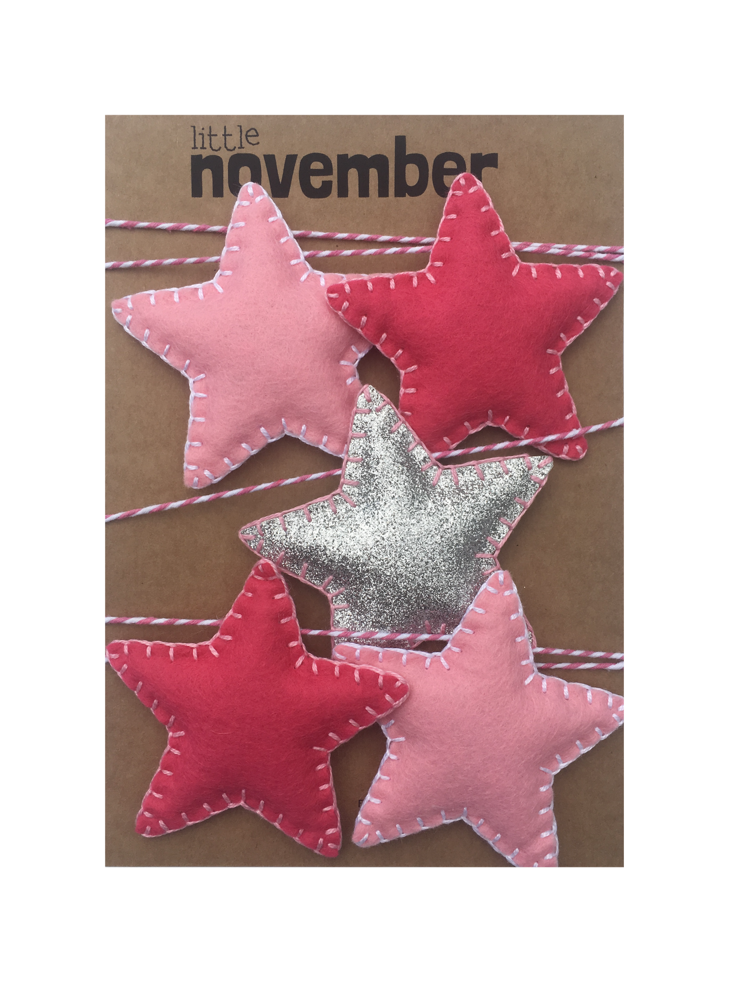Image of Pink Star Garland by Little November
