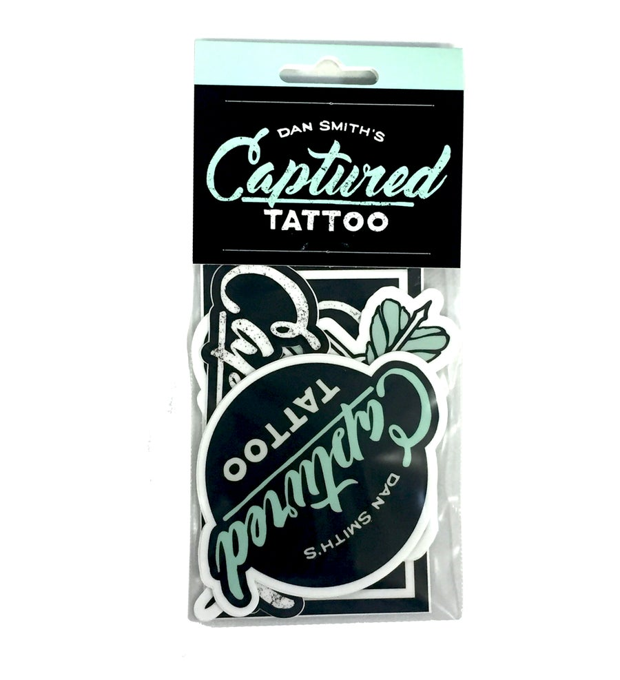 Image of Captured Tattoo Sticker Pack