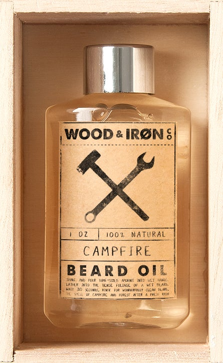 Image of Campfire Beard Oil