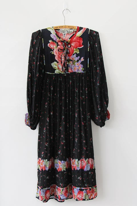 Image of SOLD Boho Festival Indian Rayon Dress