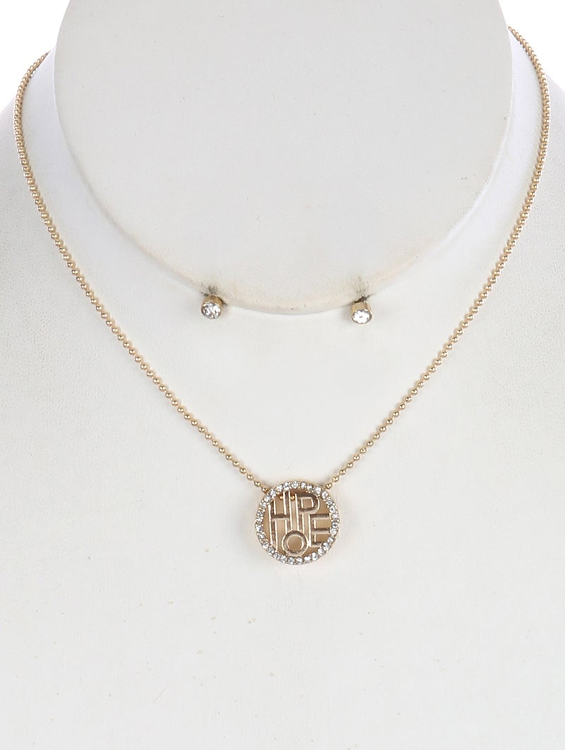 Image of Circular Hope Necklace