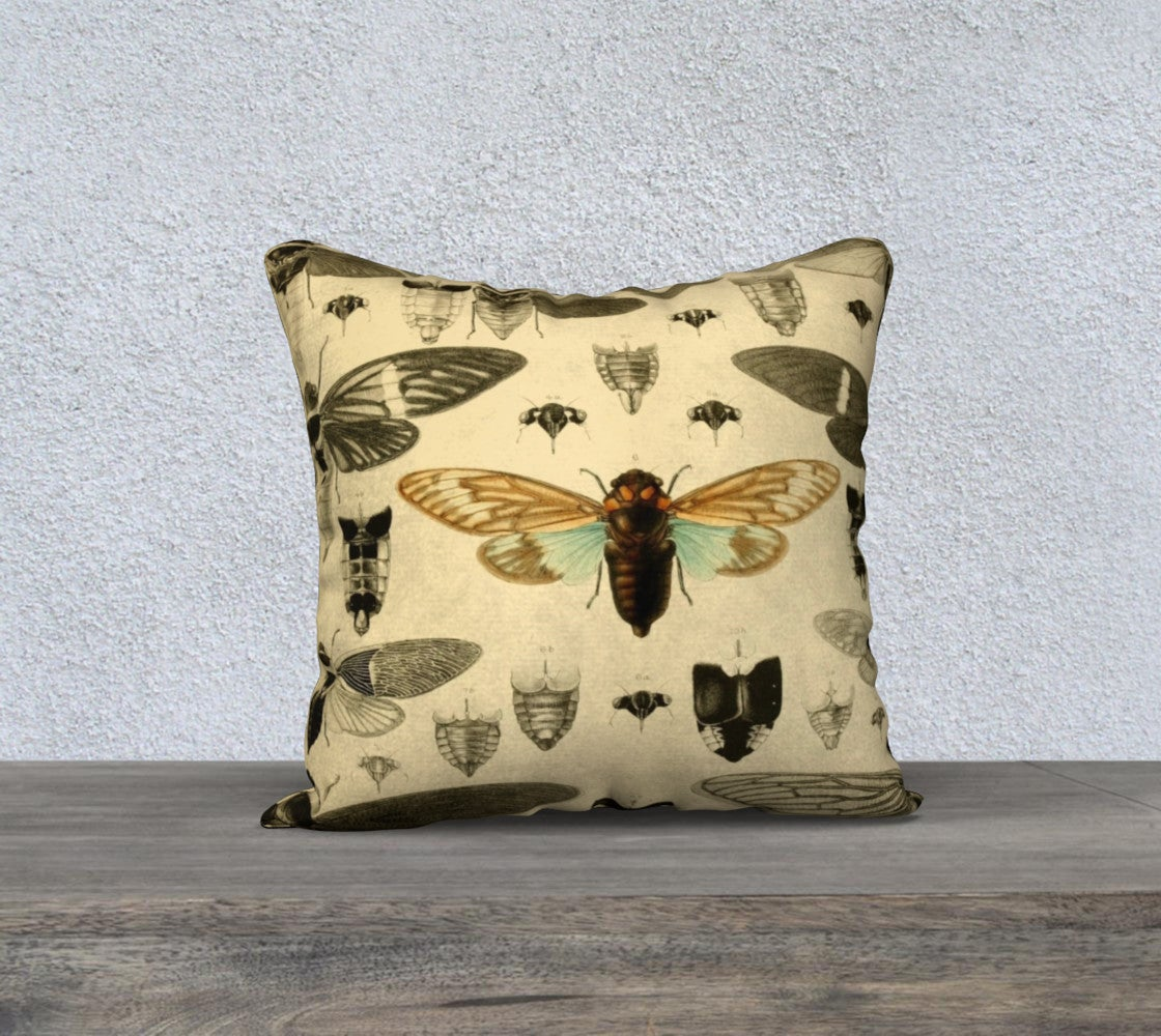 Image of Cicada Pillow Case