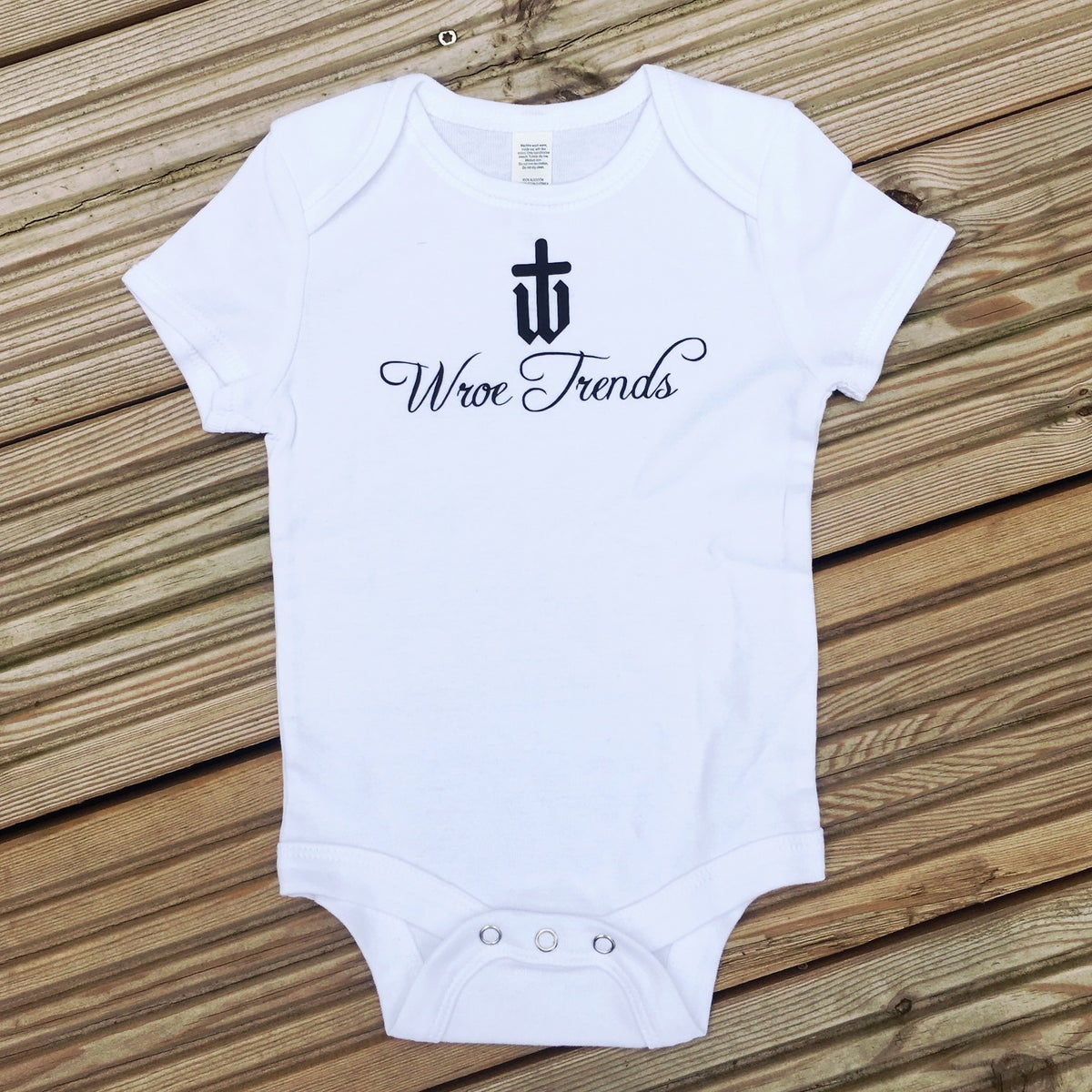 Image of BABY GROW • WHITE