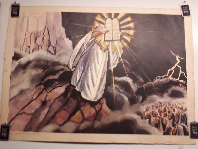 Image of Ten Commandments Poster