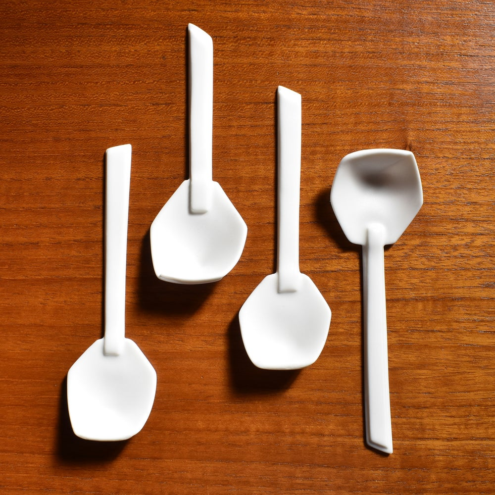 Image of Porcelain Spoon