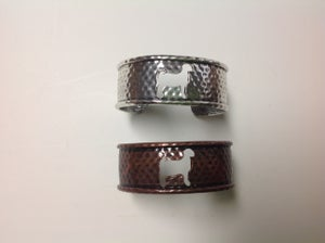 Image of Goat bracelet - 1 inch wide