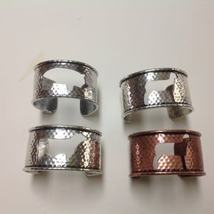 Image of Beef, swine, sheep bracelets - 2 inches wide