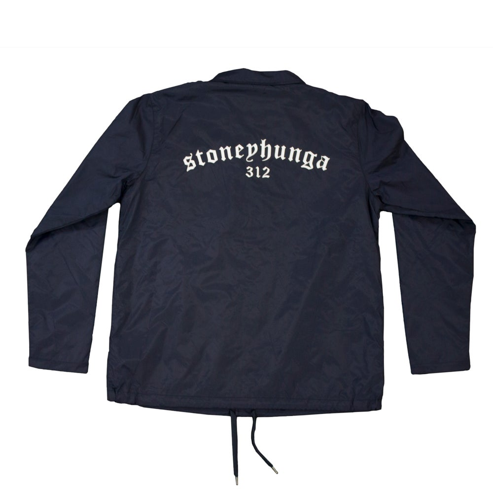 Image of Coach Jacket (Navy)