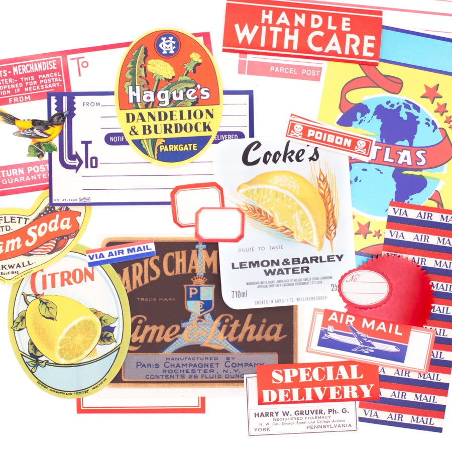 Image of Vintage Label Pack