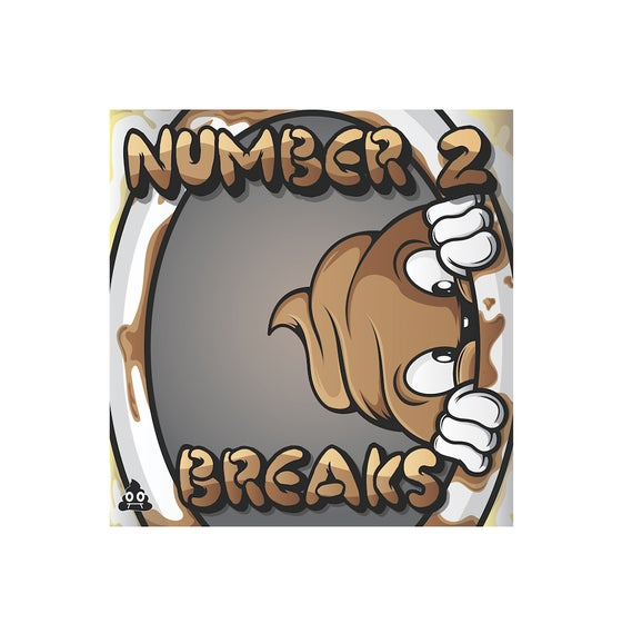 "Image of Skratch Poop - Number 2 Breaks (white 7"" vinyl)"