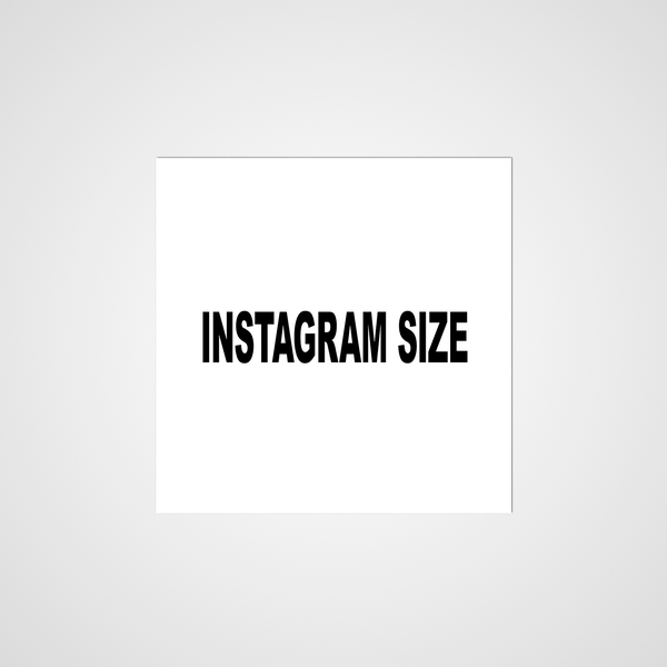 Image of Instagram Size