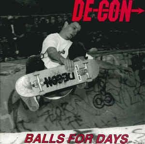 """Image of Super rare Decon CD. """"Balls For Days"""""""