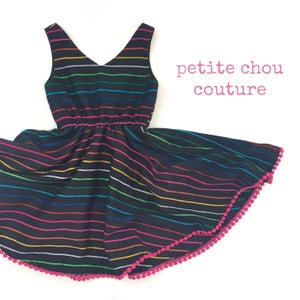 Image of Dark Rainbow - James dress