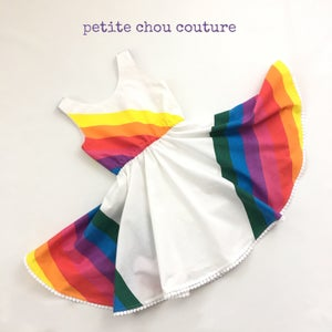 Image of Vintage Rainbow - James Dress