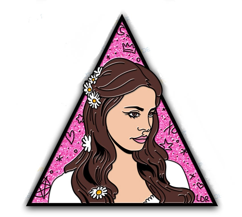 "Image of ""GAY FOR LANA"" Super Dope Enamel Pin"