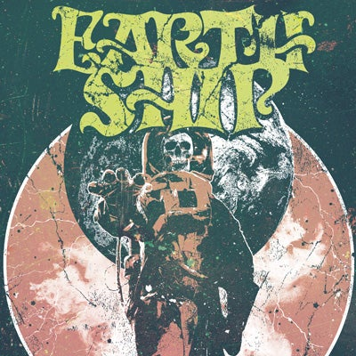 "Image of [AFFRO005] EARTH SHIP – Smoke Filled Sky/Silver Decay"" 7"" (White Vinyl)"