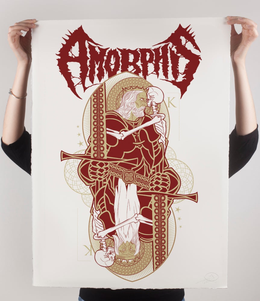 "Image of AMORPHIS ""King"" print"