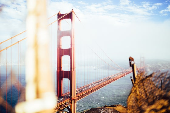 Image of Golden Gate ot the bay area (20x30)