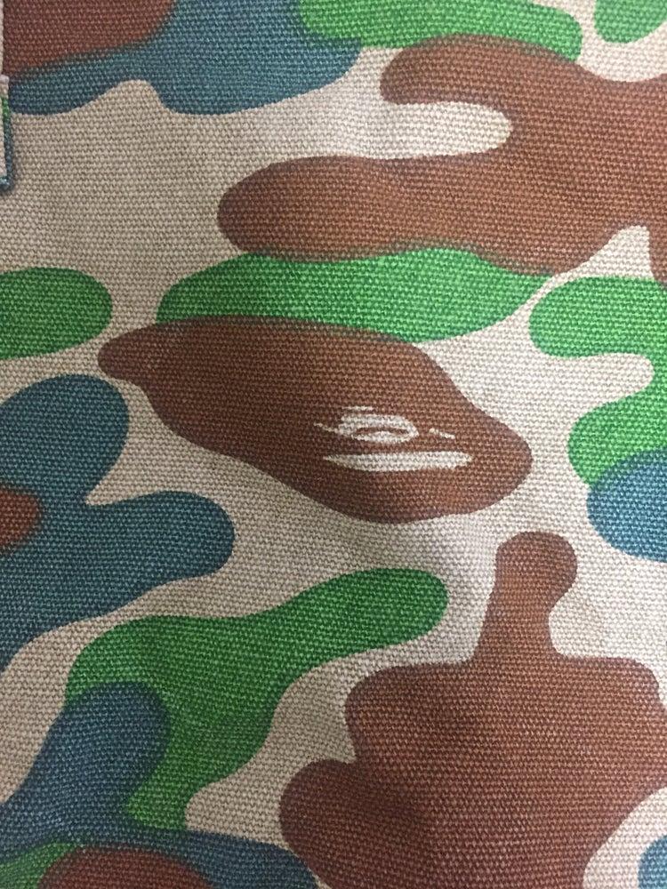 Image of Bape Vintage Woodland Camo Tote Bag