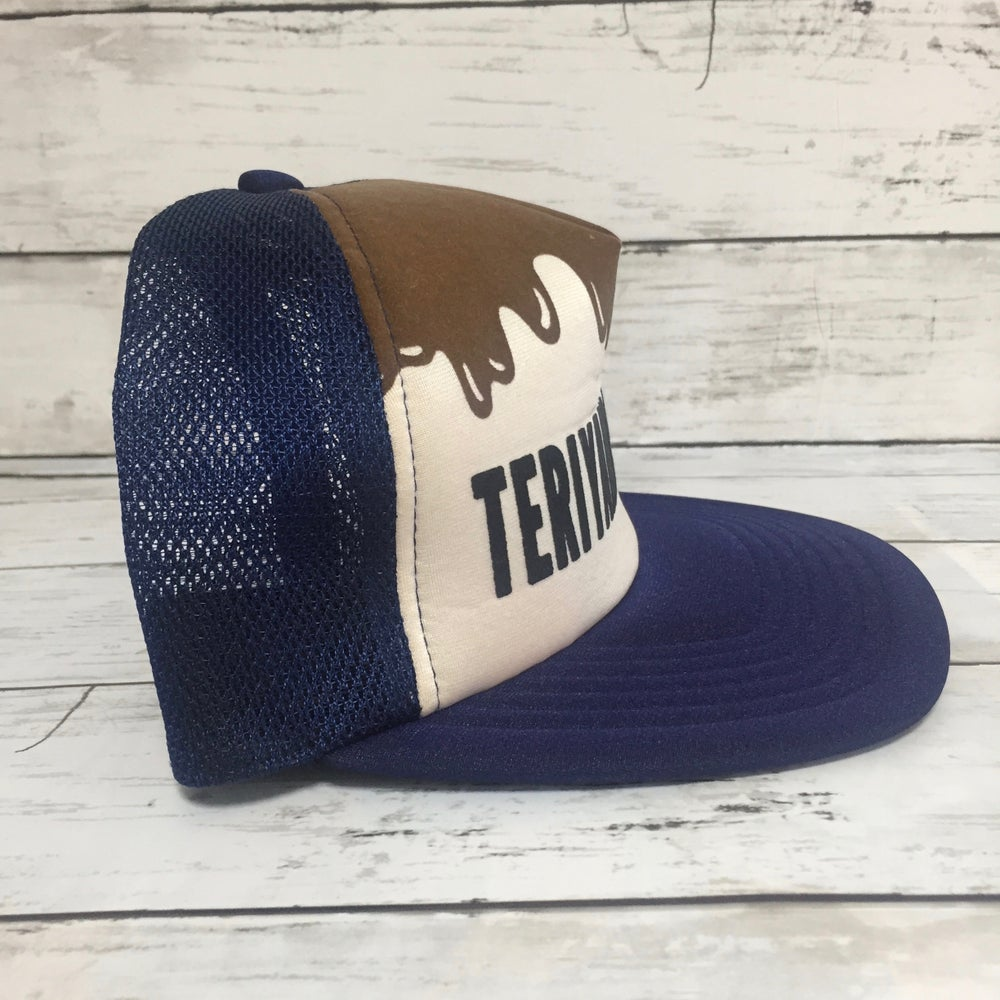 "Image of Bape x Teiyaki Boyz ""Teriyaki Source"" Trucker Cap"