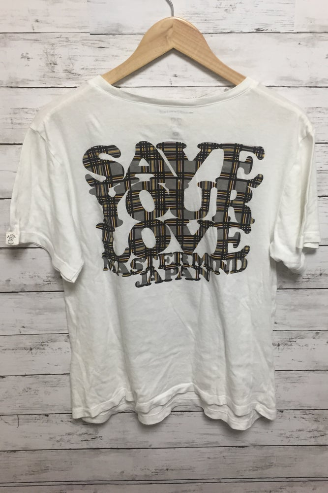 Image of Mastermind Japan x Love check T-shirt