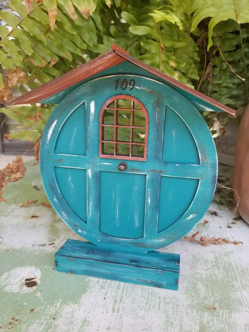 Image of #109 Fairy Lane-Fairy Door Wood Kit